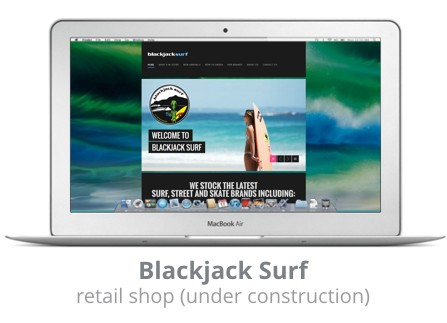 Blackjack Surf Whitianga
