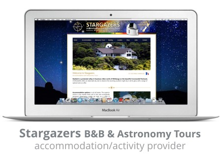 Stargazer bed & Breakfast Whitianga Kuaotunu
