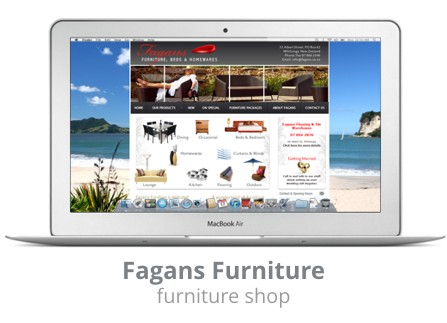 Fagans Furniture Whitianga